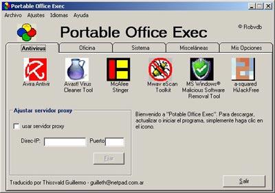 portable office exec